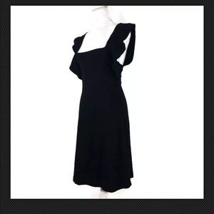 French Connection Black Cocktail Party Dress Sz 4