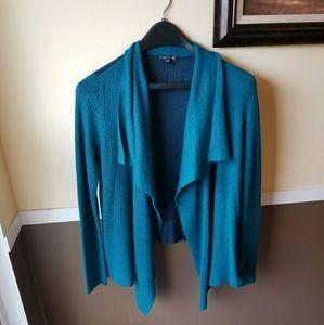 Eileen Fisher XS Royal Alpaca cardigan sweater
