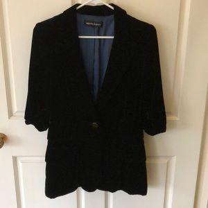 Nanette Lepore velvet blazer
