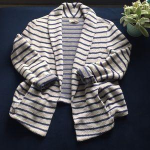 LOU & GRAY sweater blazer size small (LOFT)
