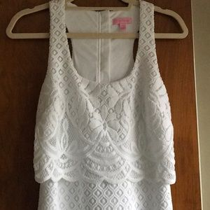 NWOT! Lilly Pulitzer Crochet Lace Dress
