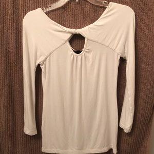 White BCBG blouse