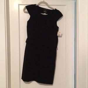 Chapeau size small black dress with tags
