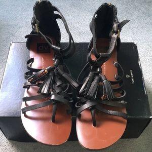 Black Dolce Vita gladiator sandals