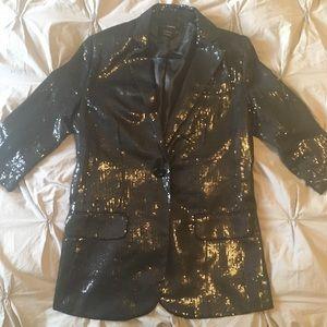 Jackets & Blazers - Vintage sequin blazer