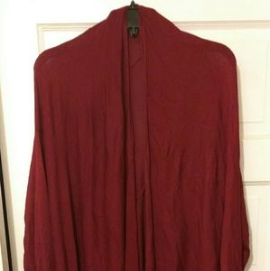 Long rasberry jacket