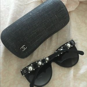 Limited Edition Chanel Pearl Sunglasses