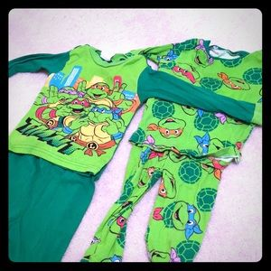 Other - Ninja turtle Toddler pjs