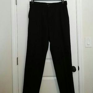 Izod Mens black dress pants