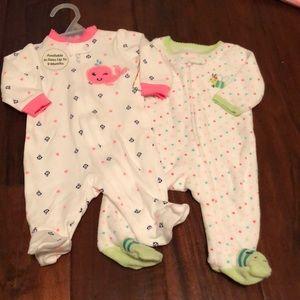 Newborn footies