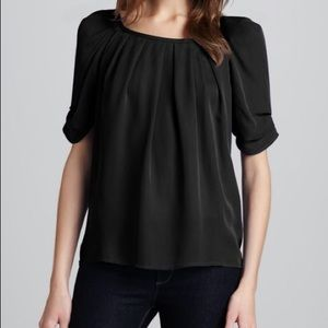 Joie Eleanor Matte Silk Top