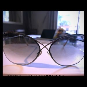 Tom Ford Sunglasses Grey and Silver