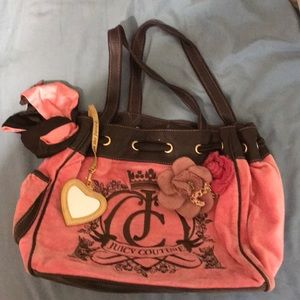 Velour juicy Couture tote