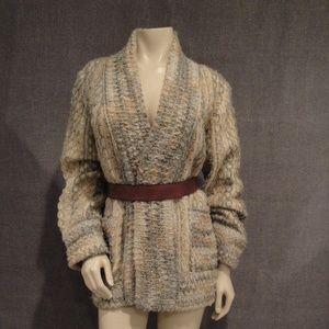 Sweaters - Ladies wool knit sweater Made in Greece