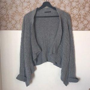 Brandy Melville Angora blend open Front cardigan