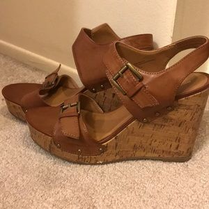 Mission Supply Co. cork wedges