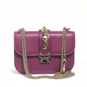Valentino Small Rockstud Nwt Shoulder Bag