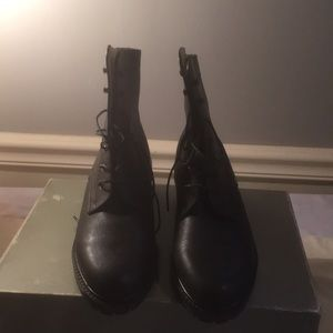 NWOT Bally Ankle Boots