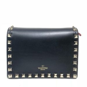 Valentino Rockstud Evening Black Cross Body Bag