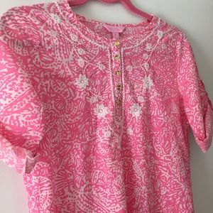 Lilly Pulitzer Kids XL embroidered dress