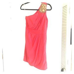 Shoshanna Dress with gold detailing - size 2