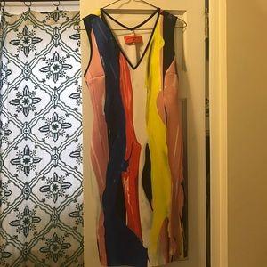 Clover Canyon multicolored bodycon dress