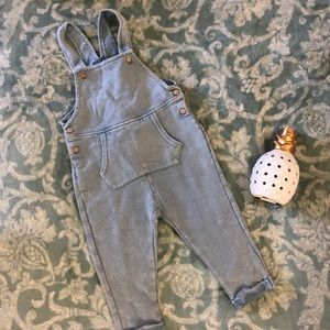 NWT Zara baby girl overalls