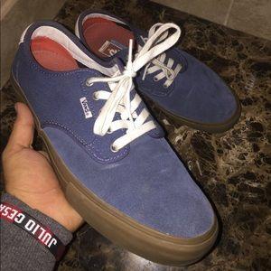 Blue Vans like new