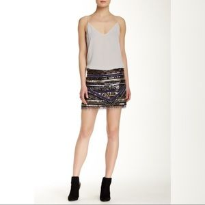 Dresses & Skirts - Parker black sequin mini skirt size 10