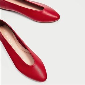 Zara shoes: ballerina style. Sold out.