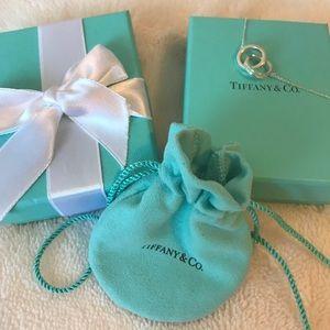Tiffany & Co. Interlocking ring necklace
