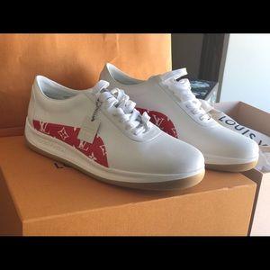 Louis Vuitton Shoes X Supreme Poshmark