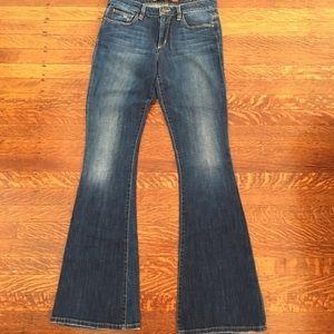 Joe's high waist skinny flare visionaire jeans