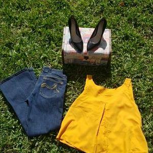 Wide Leg DKNY Jeans