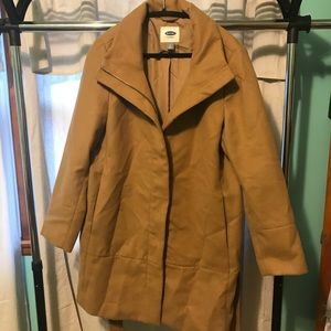 LONG PEA COAT /TRENCH COAT WORN ONCE