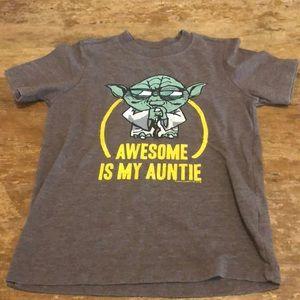 Old Navy Star wars Yoda T-shirt
