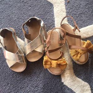 Toddler girl's sandals