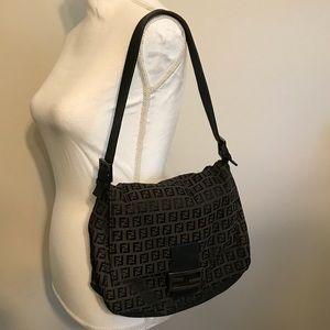 Fendi Zucca Monogram Handbag