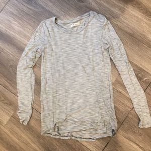 Madewell Striped Long-sleeve T-shirt
