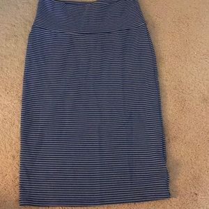 LulaRoe Cassie Skirt only worn once