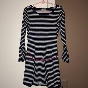 Little girls stripe dress