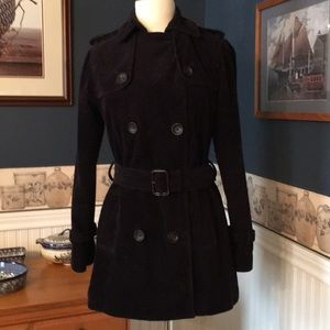 Gap Corduroy Trench Style Coat- Small