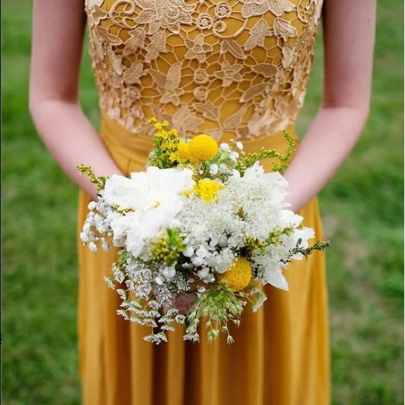 c31041b7409 for her and for him Dresses   Skirts - Mustard Bridesmaid Dress