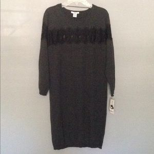 Bar lll Sweater dress SZ Med New with Tags