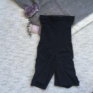 Spanx Black Control Shorts