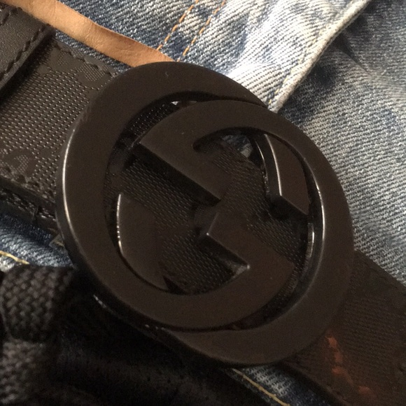 c9cef847076 Gucci Other - All Black Gucci belt price is negotiable