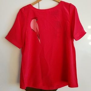 Pink silk blouse Marc by Marc Jacobs