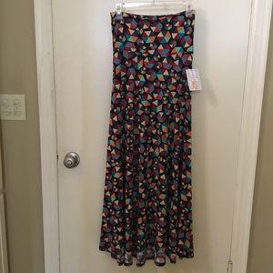 Lularoe Maxi Skirt (XS) NWT