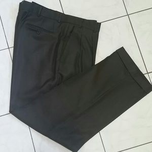 Mens Brown Pants size 40 x 32 Stafford