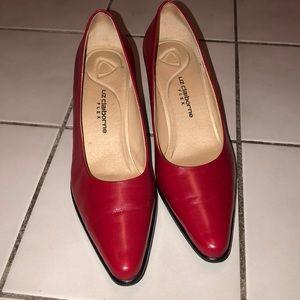 Liz Claiborne red heels